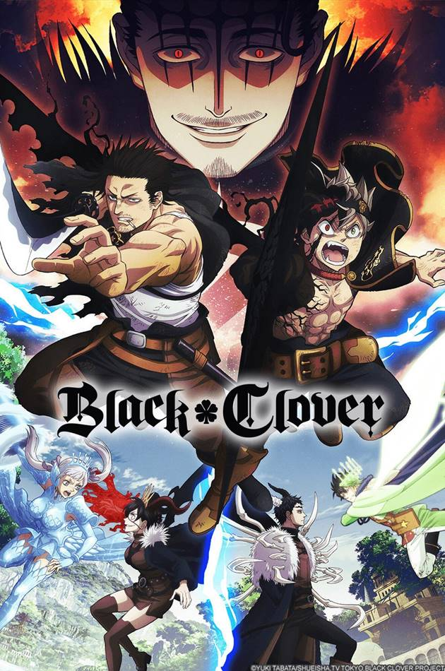 Black Clover แบล็คโคลเวอร์ ตอนที่ 1-161 ซับไทย (+OVA) (ยังไม่จบ)