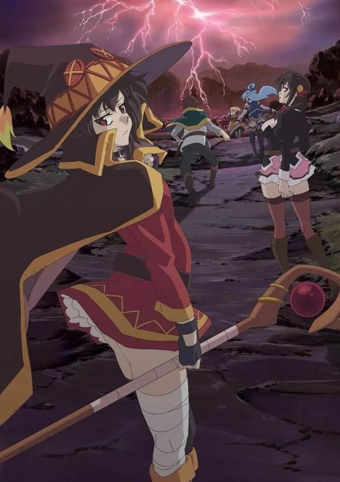 KonoSuba The Movie Legend of Crimson  ขอให้โชคดีมีชัยในโลกแฟนตาซี! เดอะมูฟวี่ ตำนานสีชาด (ซับไทย) [จบแล้ว]