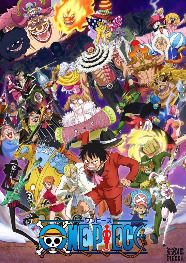 One Piece วันพีช ซีซั่น 19 เกาะโฮลเค้ก ตอนที่ 783-877 ซับไทย [จบแล้ว]
